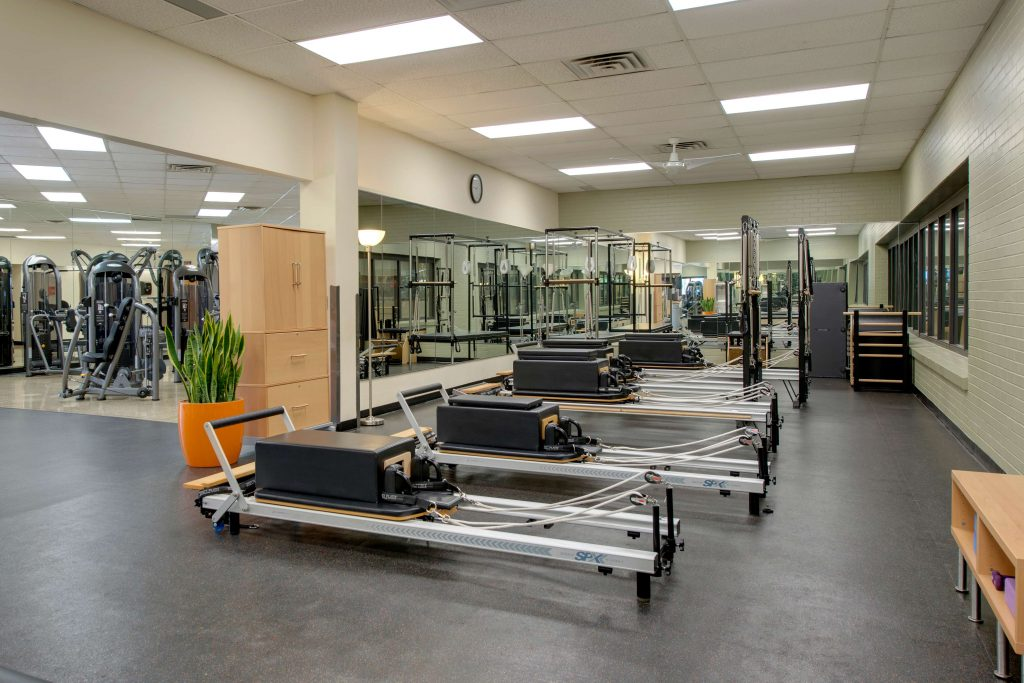 Pilates Reformers at YWCA Uptown