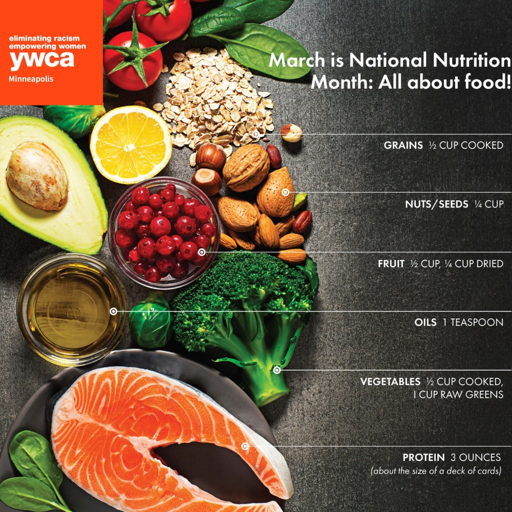 Whole Foods and Portion Control for a Healthy Lifestyle | YWCA
