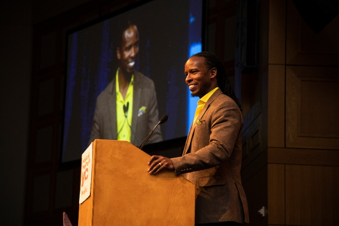 Ibram X. Kendi at YWCA Minneapolis It's Time To Talk event