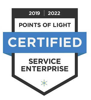 service enterprise point of light certified logo